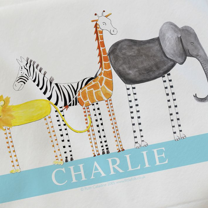 Baby blankets personalised baby gifts christening gifts personalised baby blankets personalised baby gifts christening gifts safari friends little folk negle Image collections